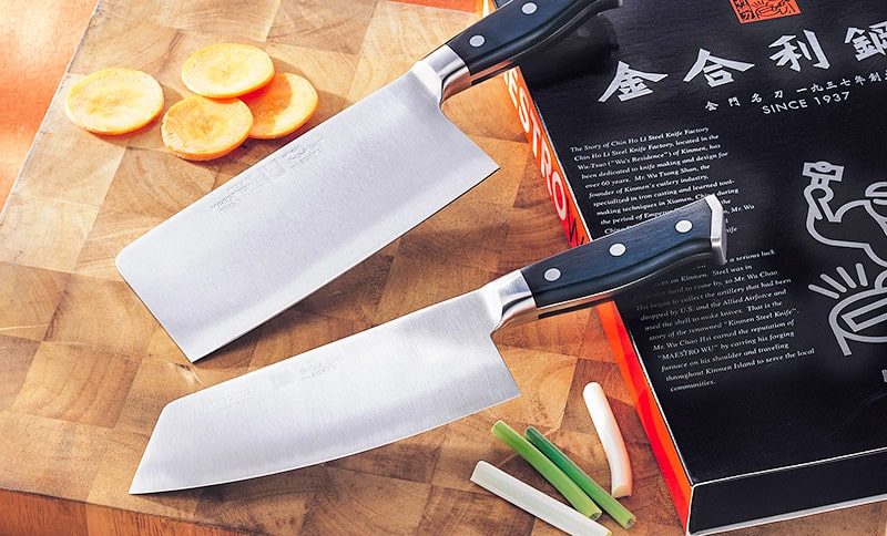 Maestro Wu D1 Chinese Meat cleaver & Vegetable Cleaver Set