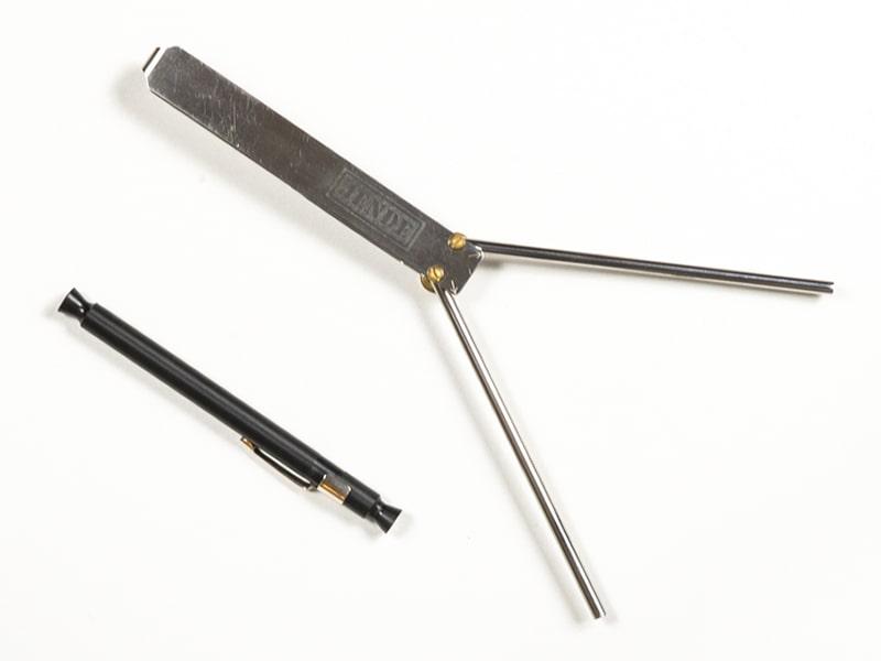 Jende Edge Tester & Folding Steel