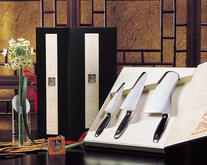 Maestro Wu MA1,3,4 3 Piece Knife set