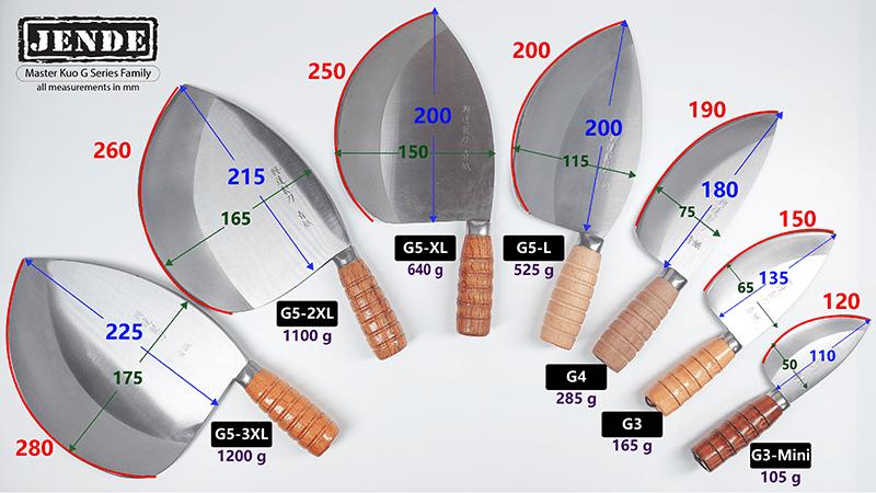 Master Kuo G Series Taiwan fish knives